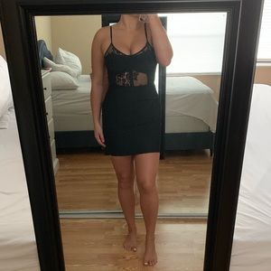 Black Bodycon Dress from WINDSOR Size US Small